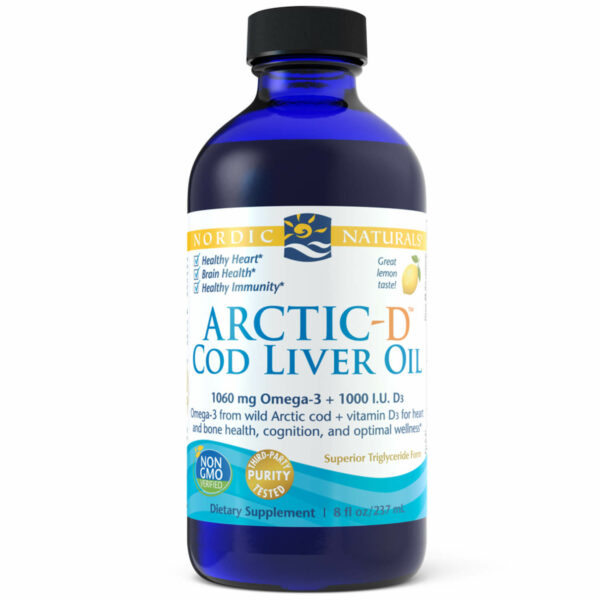 Arctic-D Cod Liver Oil Lemon