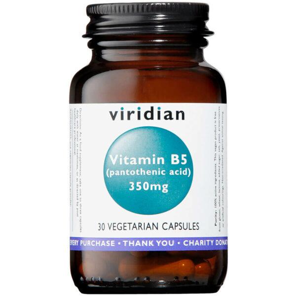 Vitamin B5 (Pantothenic Acid) 350mg
