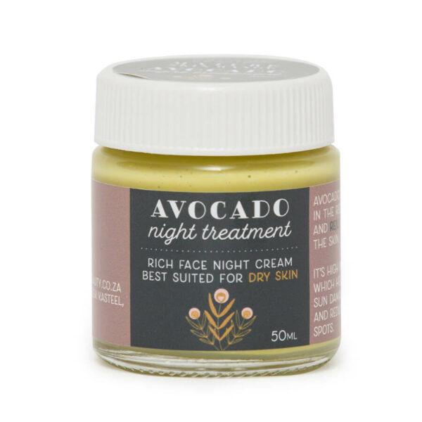 Mature Range Avocado Night Treatment