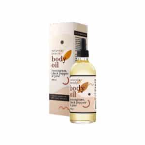 Body Oil Lemongrass, Black Pepper & Pine