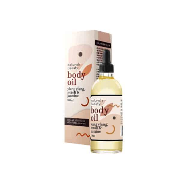Body Oil Ylang Ylang, Jasmine & Neroli