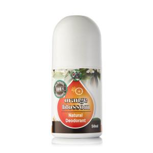 Orange Blossom natural roll-on deodorant