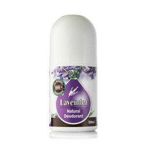 Lavender natural roll-on deodorant