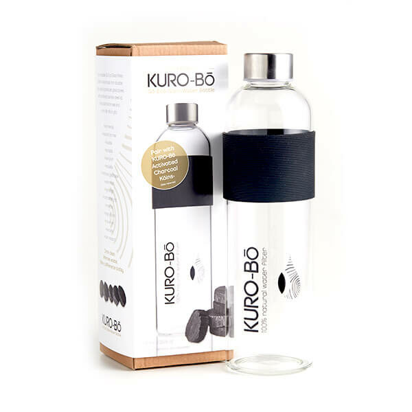 Gō-Ecō Glass Water Bottle (1L)