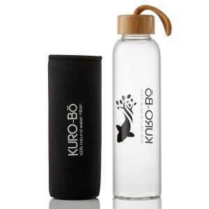 Gō-Ecō Glass Water Bottle (550ml)