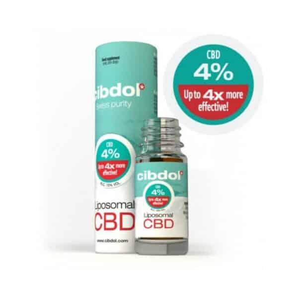 Liposomal CBD Oil 10ml 4%