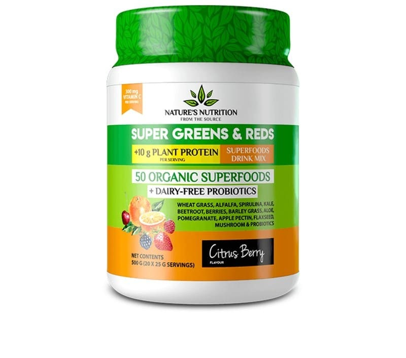 Citrus Berry Superfoods Drink Mix