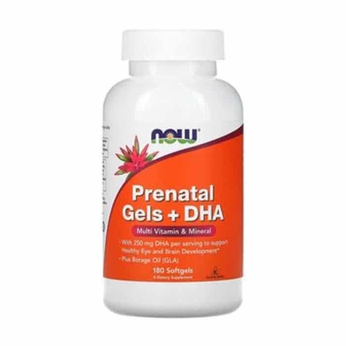 Prenatal Gels + DHA Softgels