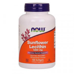 Sunflower Lecithin 1200 mg Softgels