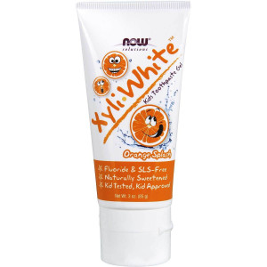Toothpaste for Kids-Orange Splash