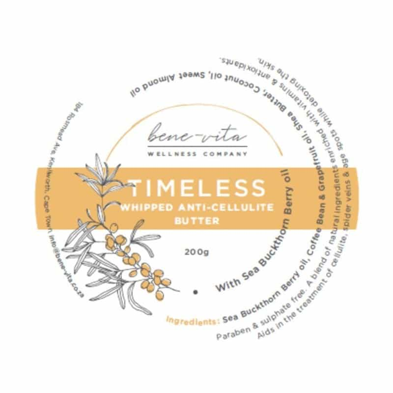 Timeless Whipped Cellulite Butter