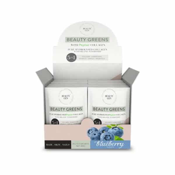 Beauty Greens Blueberry Sachets