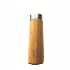 Bamboo Wrapped Water Bottle