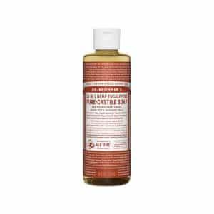 18 in 1 Hemp – Eucalyptus Castile Soap Liquid