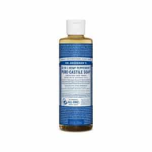 18 in 1 Hemp – Peppermint Castile Soap Liquid