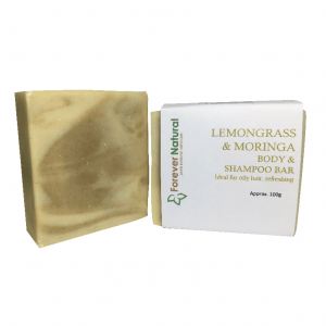 Body and Shampoo Bar – Lemongrass & Moringa