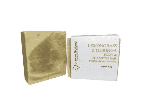Body and Shampoo Bar – Lemongrass & Moringa