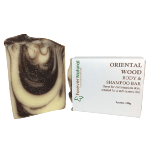 Body and Shampoo Bar – Oriental Wood