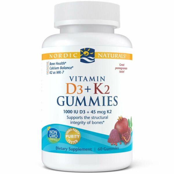 Vitamin D3/K2 Gummies