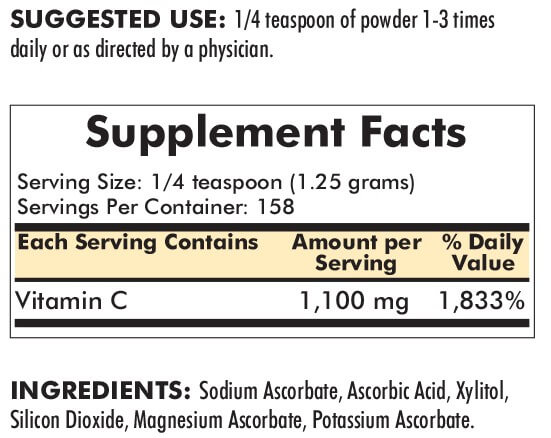 Buffered Vitamin C – Unflavoured
