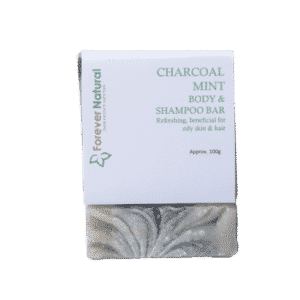 Body and Shampoo Bar – Charcoal and Mint