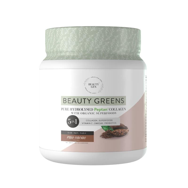 Beauty Greens® Collagen Raw Cacao