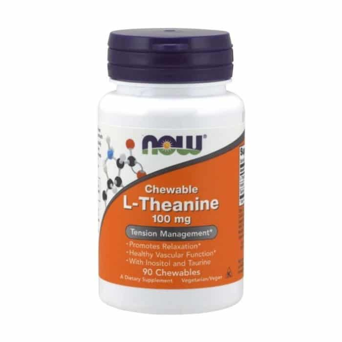 L-Theanine 100mg Chewables