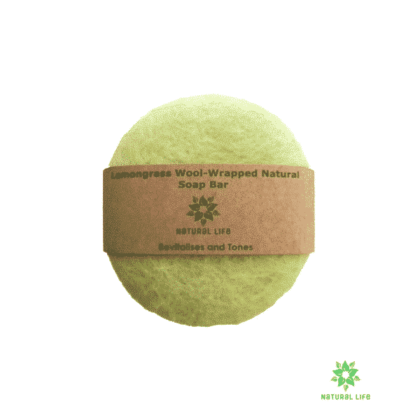 Wool-Wrapped Soap-Lemongrass