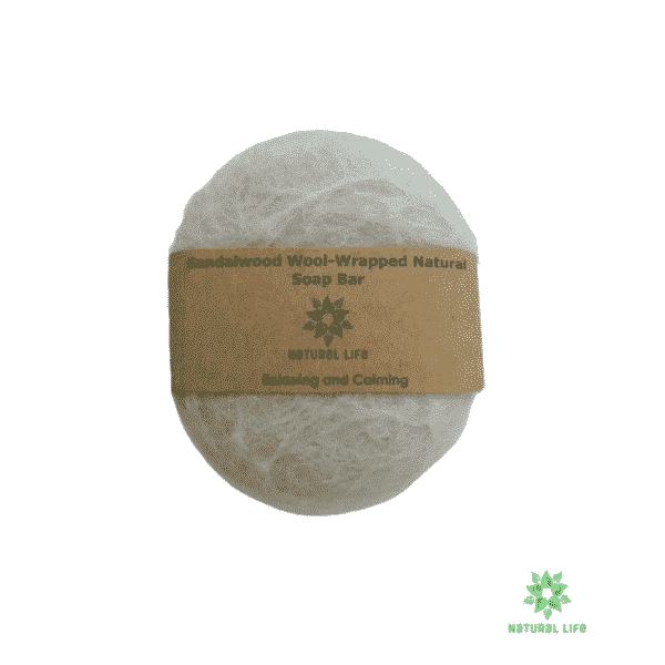 Wool-wrapped Soap-Sandalwood