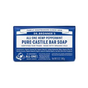 Soap Bar – 18 in 1 Hemp – Peppermint Castile
