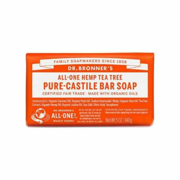 Soap Bar – 18 in 1 Hemp – Tea Tree Castile