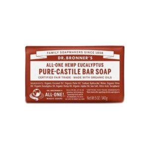 Soap Bar – 18 in 1 Hemp – Eucalyptus Castile