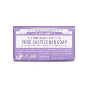 Soap Bar – 18 in 1 Hemp – Lavender Pure Castile