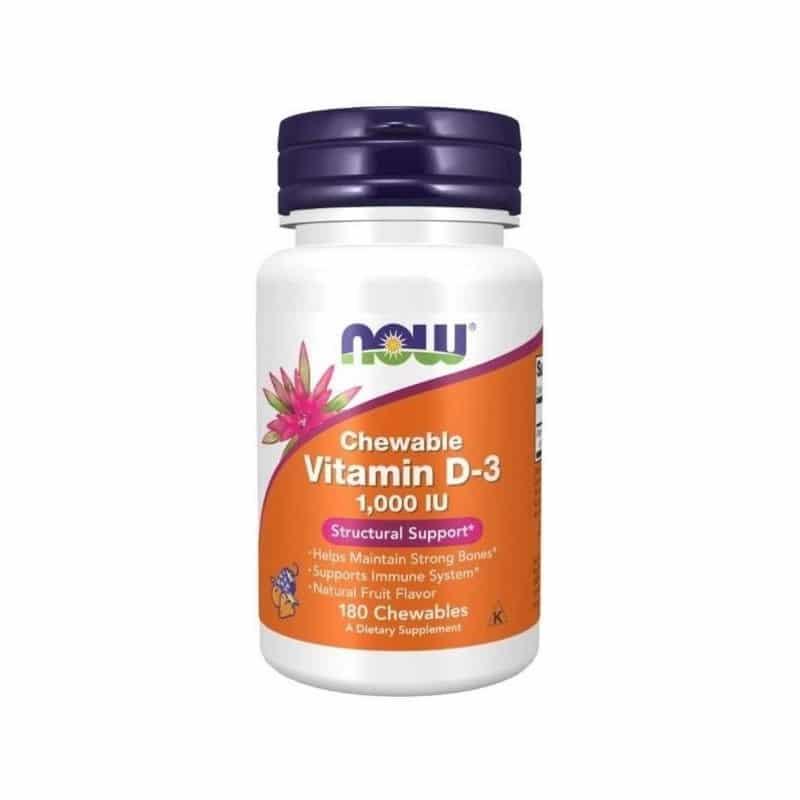 Vitamin D3 1000 IU Chewables
