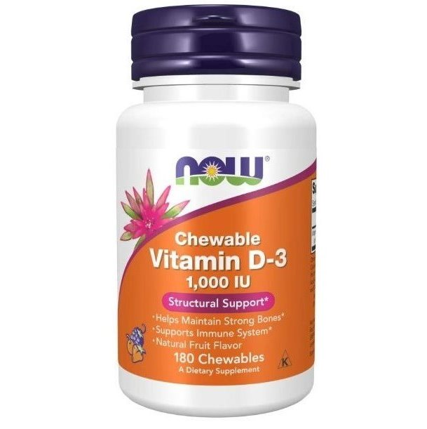 Vitamin D3 1000 IU Chewables