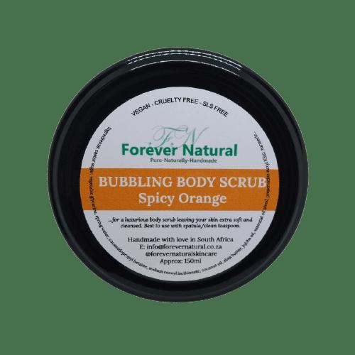 Bubbling Bath Scrub – Spicy Orange