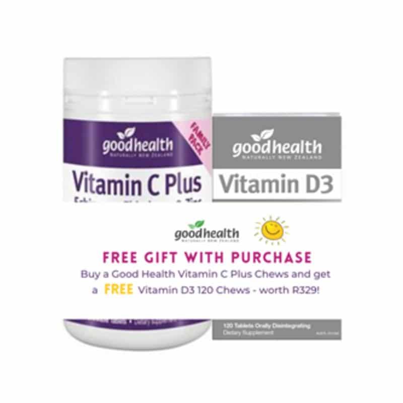 Vitamin C Plus + Vitamin D3 1000 Promo